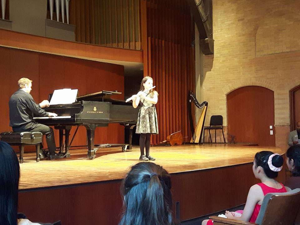 Our student performance at Mazzoleni Concert Hall Toronto